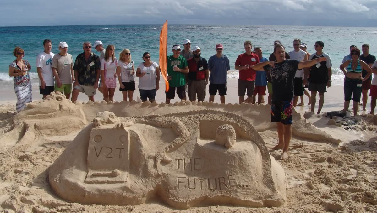 Sand Team Building - Elite Destination Florida